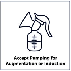 Accept Pumping for Augmentation or Induction