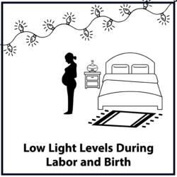 Low Light Levels During Labor and Birth
