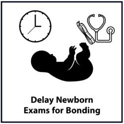 Delay Newborn Exams for Bonding