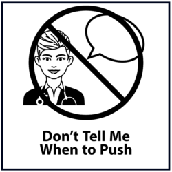 Don't Tell Me When to Push: Black