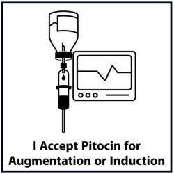 Accept Pitocin Sweep for Induction or Augmentation