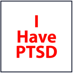 I Have PTSD: Red