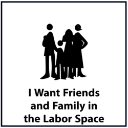 I Want Friends and Family in the Labor Space