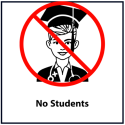 No Students: Red