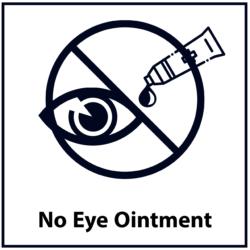 No Eye Ointment: Black