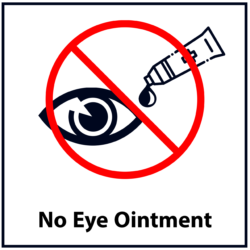 No Eye Ointment: Red