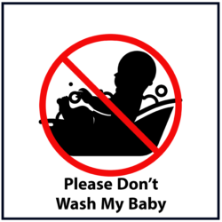 Please Don't Wash My Baby: Red