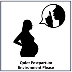 Quiet Postpartum Environment