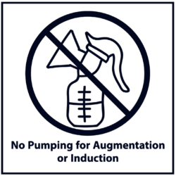 No Pumping for Augmentation or Induction: Black