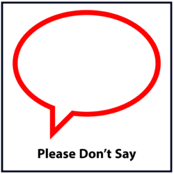 Please Don't Say: Red