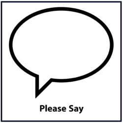 Please Say